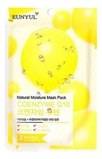 EUNYUL Тканевая маска для лица с коэнзимом Natural Moisture Mask Pack Coenzyme Q10