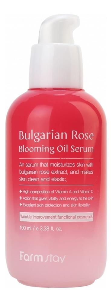 Сыворотка для лица с экстрактом болгарской розы Bulgarian Rose Blooming Oil Serum 100мл