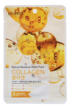 EUNYUL Тканевая маска для лица с коллагеном Natural Moisture Mask Pack Collagen