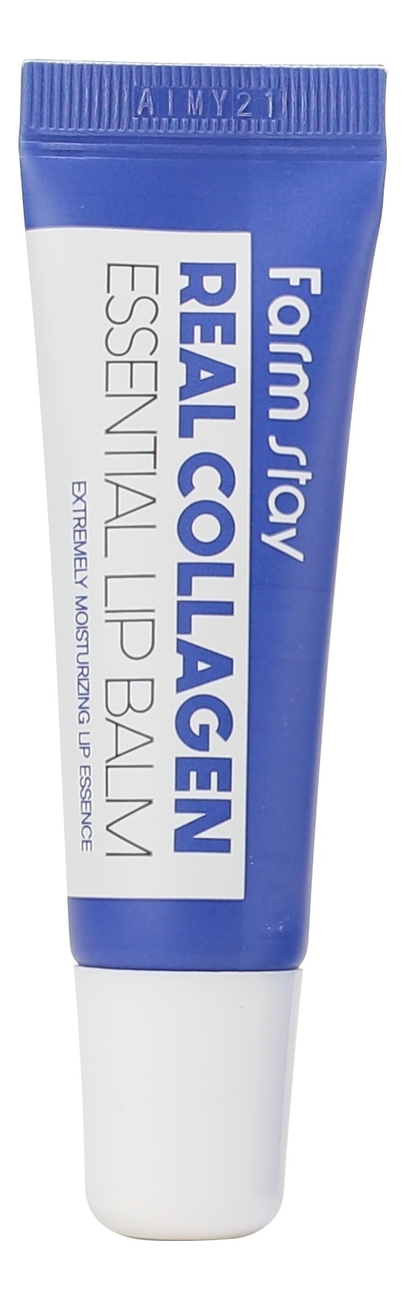 Фото - Бальзам для губ с коллагеном Real Collagen Essential Lip Balm 10мл бальзам для губ lip balm tube strawberry 10мл