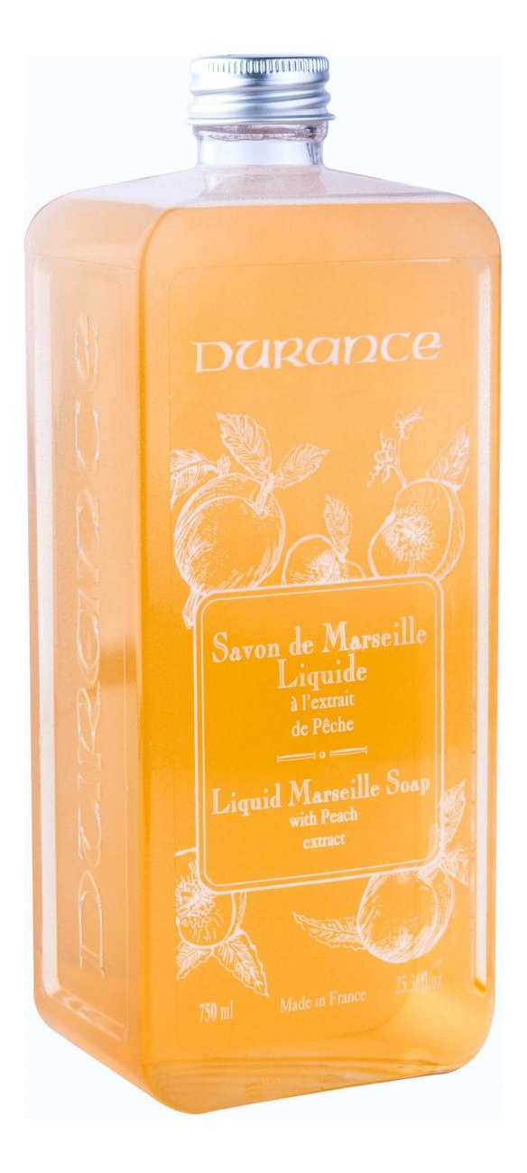 Жидкое мыло Liquid Marseille Soap (персик): Мыло 750мл