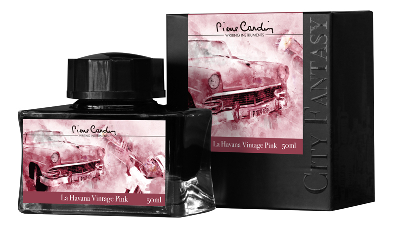 Флакон чернил City Fantasy 50мл: La Havana Vintage Pink цена 2017