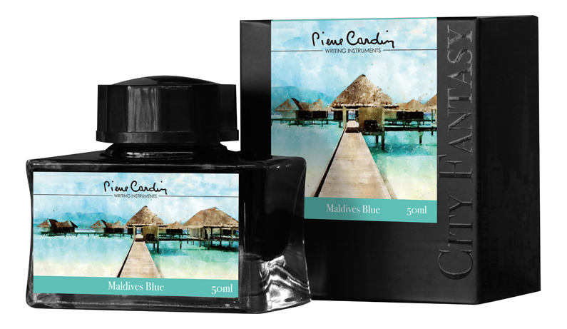 Флакон чернил City Fantasy 50мл: Maldives Blue