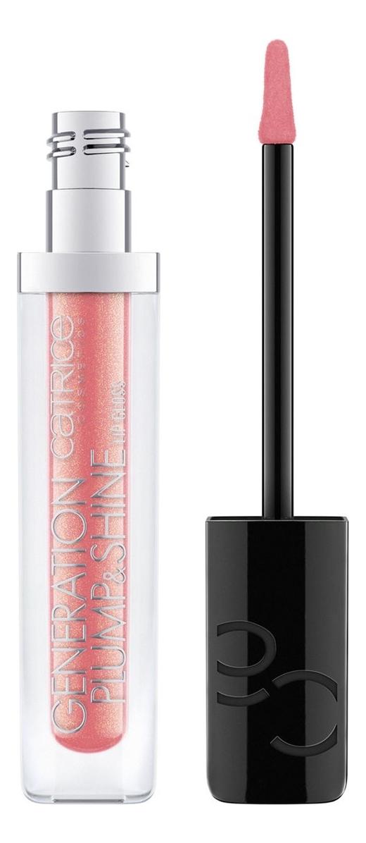 Блеск для губ Generation Plump & Shine Lip Gloss 4,3мл: 060 Sparkling Coral блеск для губ eco soul shine lip gloss 3 4г cr01 coral nectar