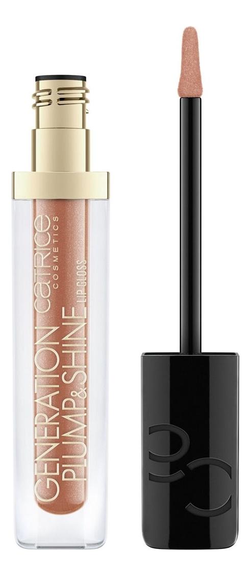 Блеск для губ Generation Plump & Shine Lip Gloss 4,3мл: 100 Glowing Tourmaline