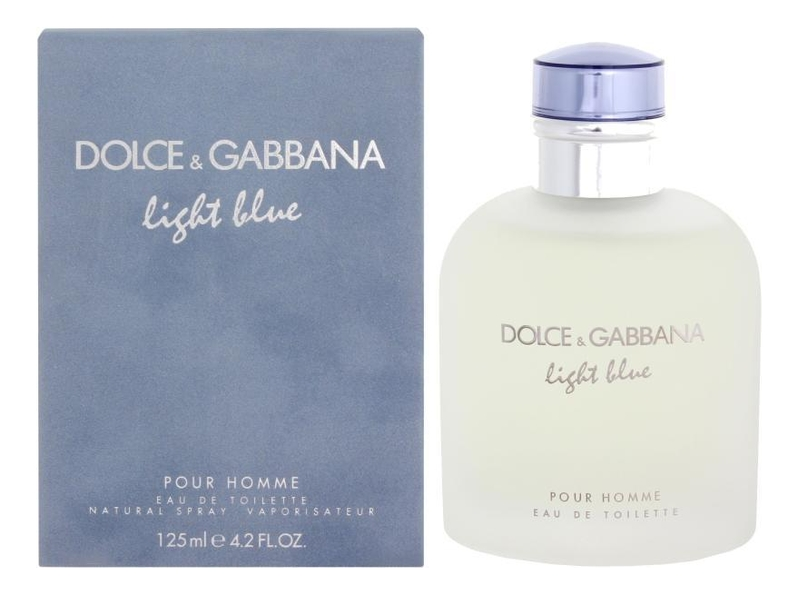 цена на Dolce Gabbana (D&G) Light Blue pour homme: туалетная вода 125мл