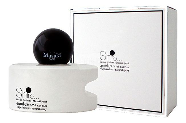 Masaki Matsushima Masaki Shiro: парфюмерная вода 40мл masaki matsushima cherry парфюмерная вода 40мл