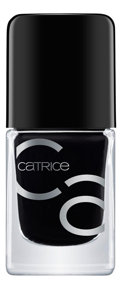 Купить Лак для ногтей IcoNails Gel Lacquer 10, 5мл: 20 Black To The Routes, Catrice Cosmetics