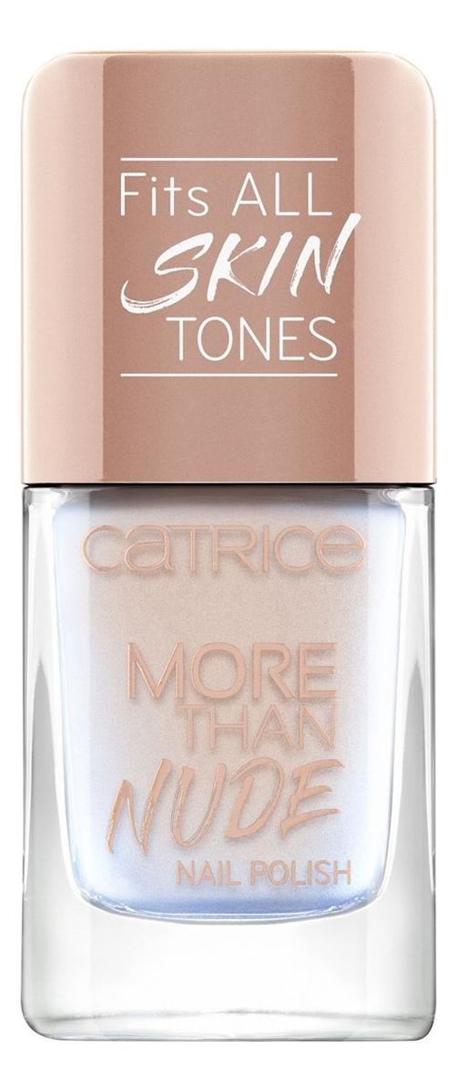 Купить Лак для ногтей More Than Nude Nail Polish 10, 5мл: 02 Pearly Ballerina, Catrice Cosmetics