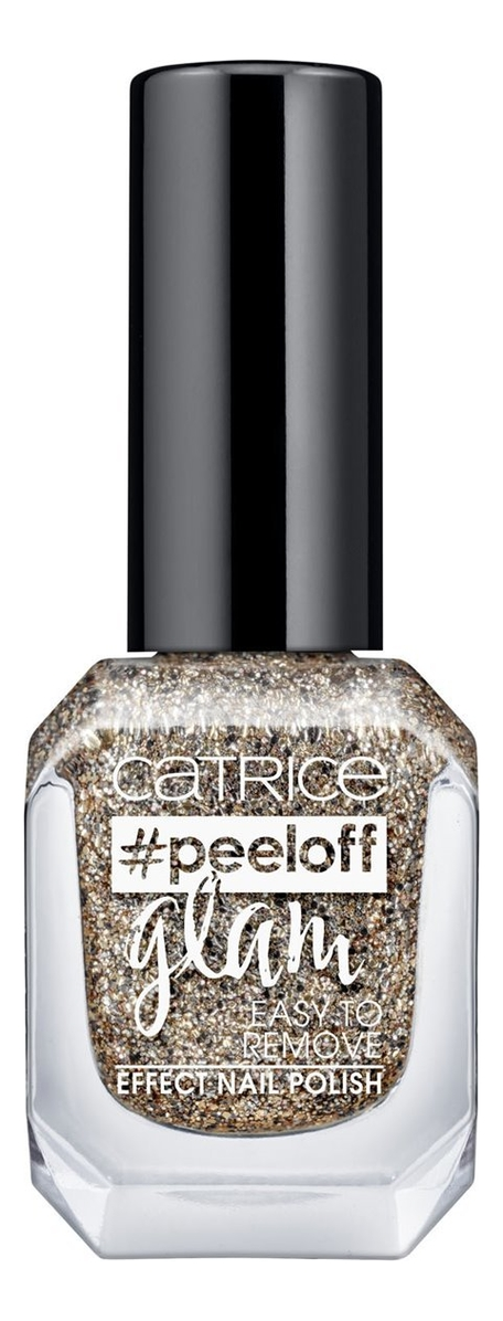 Лак для ногтей Peeloff Glam Easy To Remove Effect Nail Polish 11мл: 03 When In Doubt, Just Add Glitter