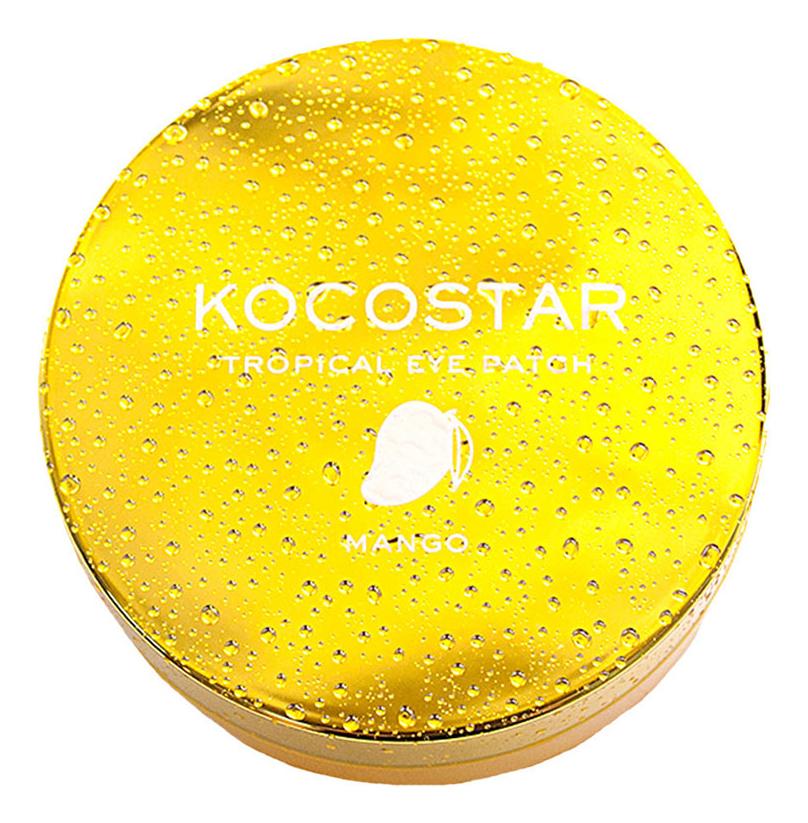 Гидрогелевые патчи для глаз с экстрактом манго Tropical Eye Patch Mango: Патчи 60шт недорого