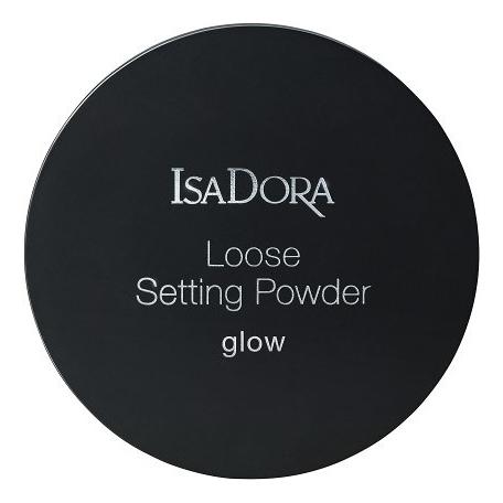Рассыпчатая пудра для лица Loose Setting Powder Glow 11г рассыпчатая пудра для лица dior forever cushion powder 10 мл