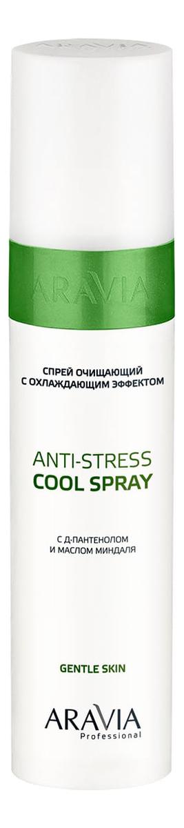 Очищающий спрей после депиляции с охлаждающим эффектом Д-пантенолом Professional Anti-Stress Cool Spra 250мл