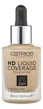 Catrice Cosmetics Тональная основа для лица HD Liquid Coverage Foundation 30мл