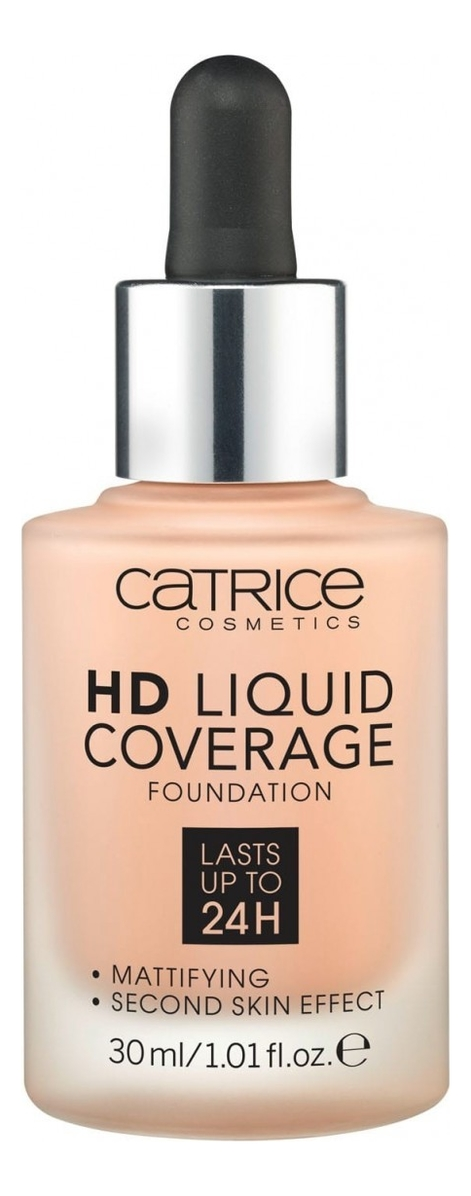 Тональная основа для лица HD Liquid Coverage Foundation 30мл: 020 Rose Beige недорого