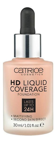 Тональная основа для лица HD Liquid Coverage Foundation 30мл: 040 Warm Beige недорого