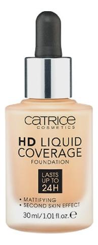 Тональная основа для лица HD Liquid Coverage Foundation 30мл: 044 Deeply Rose недорого