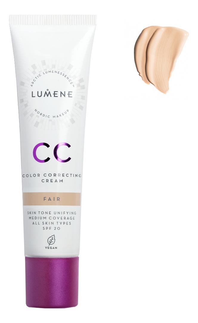 CC крем Абсолютное совершенство Nordic Chic Color Correcting Cream SPF20 30мл: Fair