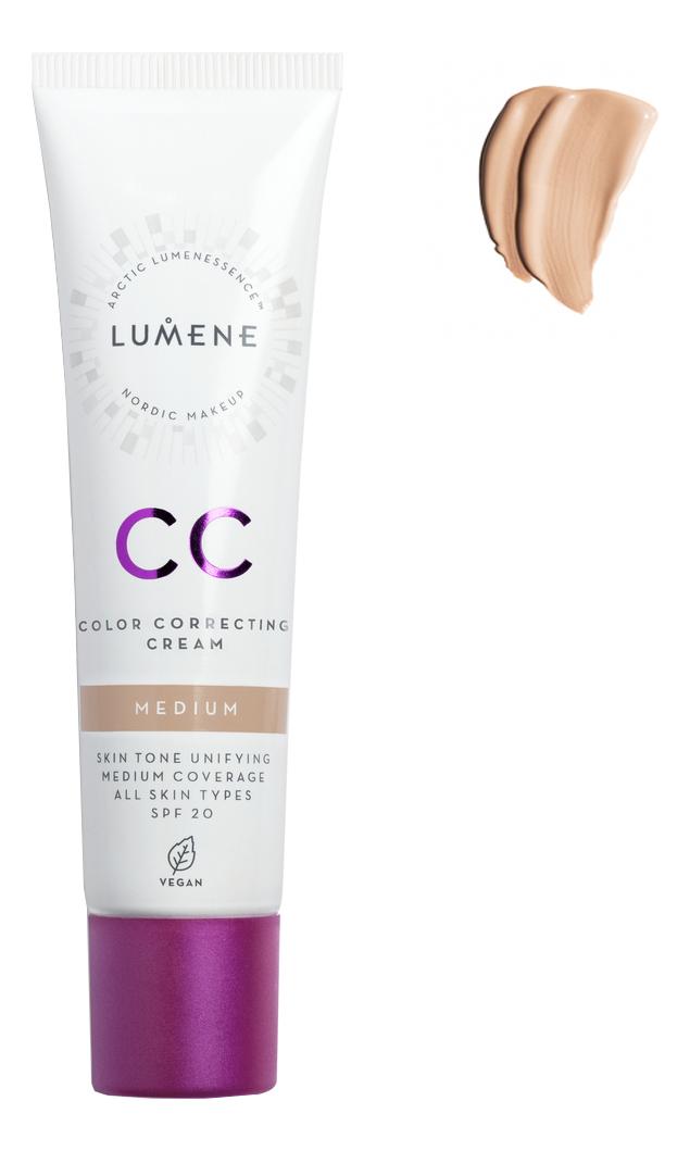цена на CC крем Абсолютное совершенство Nordic Chic Color Correcting Cream SPF20 30мл: Medium