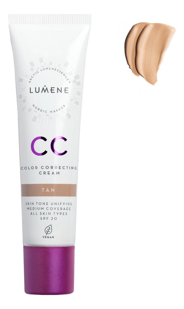 CC крем Абсолютное совершенство Nordic Chic Color Correcting Cream SPF20 30мл: Tan