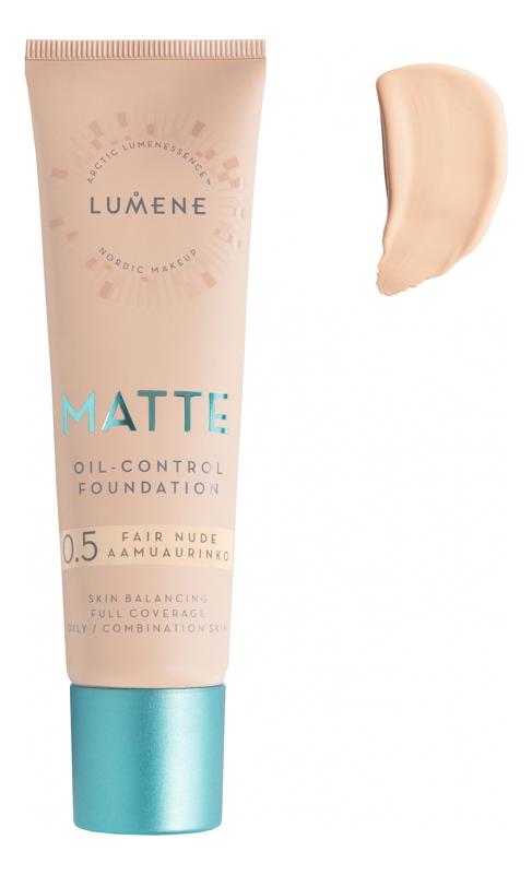 Матирующий тональный крем Nordic Chic Matte Oil-Control Foundation 30мл: 0.5 Fair Nude