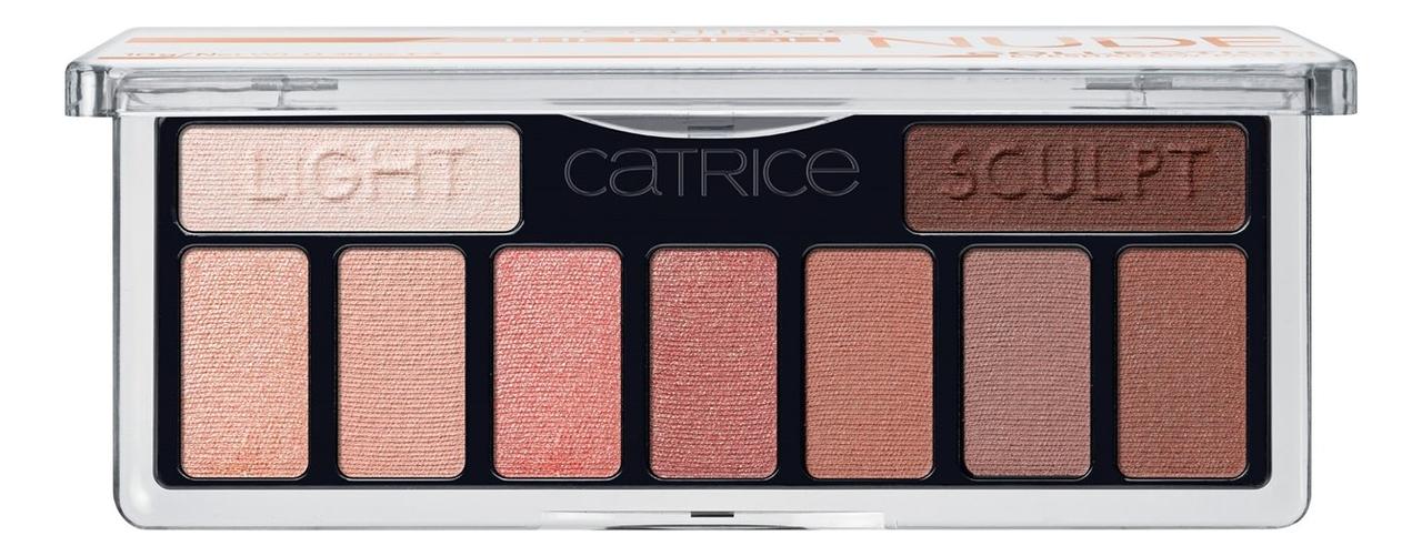 Палетка теней для век Collection Eyeshadow Palette 10г: The Fresh Nude
