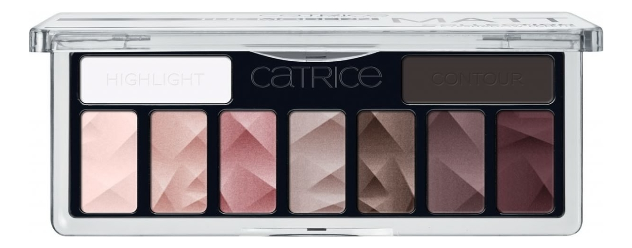 Палетка теней для век Collection Eyeshadow Palette 10г: The Modern Matt