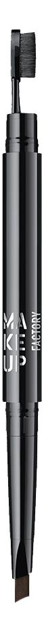 Купить Автоматический карандаш для бровей Triangle Brow Styler: 12 Dark Umber, MAKE UP FACTORY