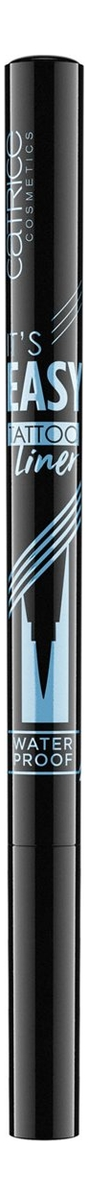 Водостойкая подводка для глаз It's Easy Tattoo Liner Waterproof Black 1,1мл недорого