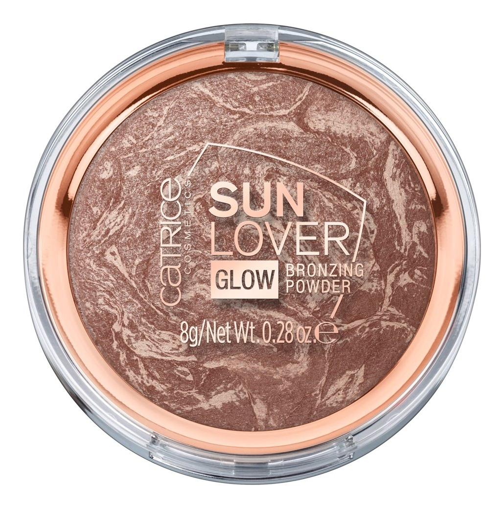 Компактная бронзирующая пудра для лица Sun Lover Glow Bronzing Powder 8г: 010 Sun-Kissed Bronze
