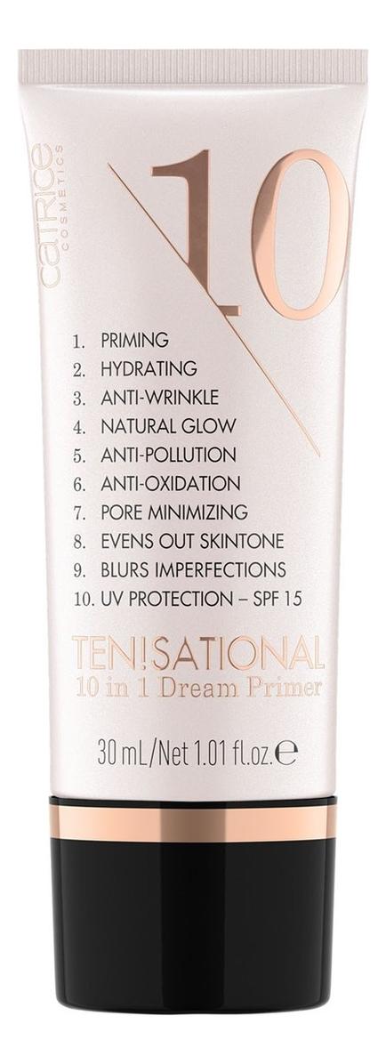 Праймер для лица Ten!Sational 10 In 1 Dream Primer 30мл