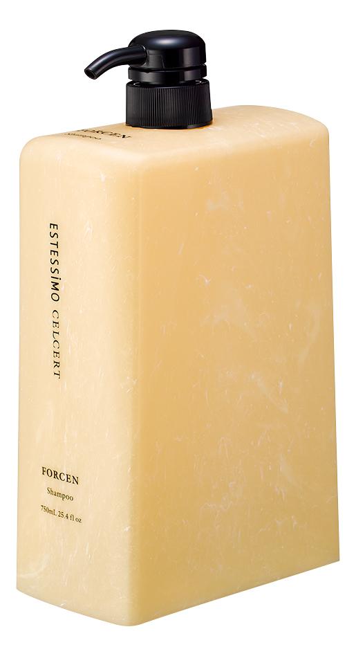 Укрепляющий шампунь для тонких волос Estessimo Celcert Shampoo Forcen: Шампунь 750мл укрепляющий шампунь для тонких волос estessimo celcert shampoo forcen шампунь 250мл