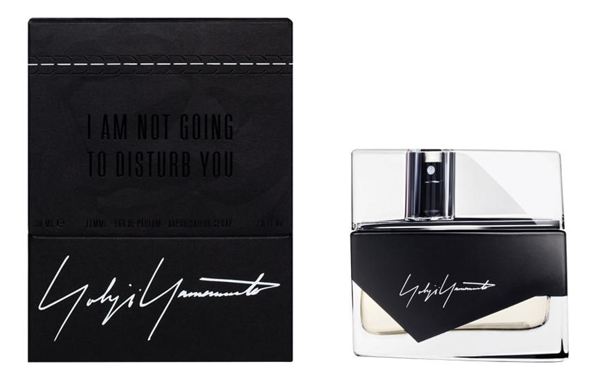 Yohji Yamamoto Im not Going To Disturb You Femme: парфюмерная вода 30мл тестер