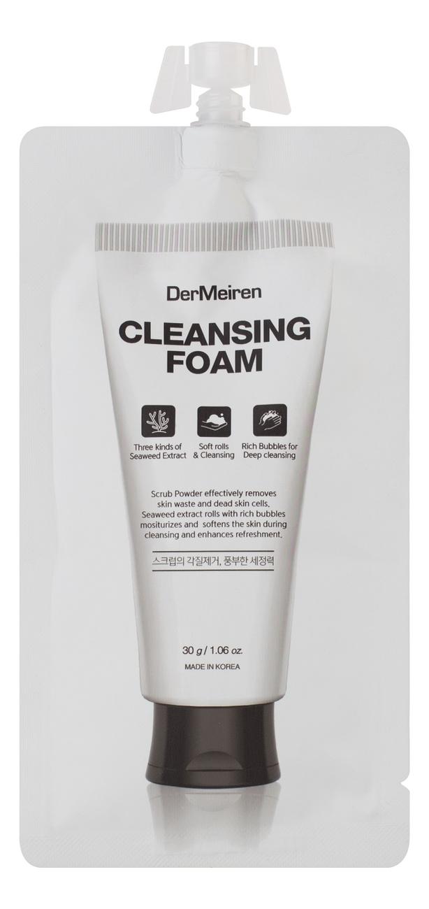 Пенка для глубокого очищения кожи лица с экстрактом водорослей Cleansing Foam 30г