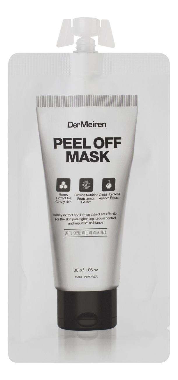 Маска-пленка для очищения и сужения пор Peel Off Mask 30г пленка