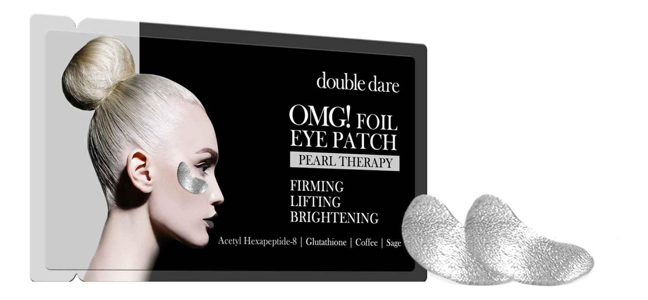 Патчи для области вокруг глаз Foil Eye Patch Pearl Therapy 2шт