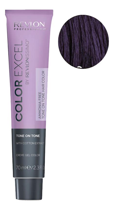 Крем-гель краска для волос Color Excel by Revlonissimo 70мл: 33.20 Интенсивно темно-коричневый