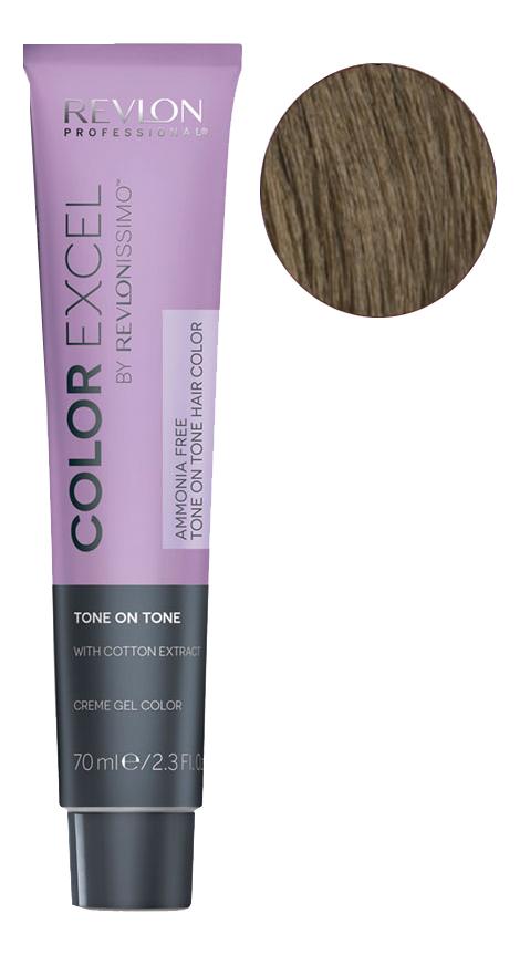Фото - Крем-гель краска для волос Color Excel by Revlonissimo 70мл: 6 Темный Блондин крем гель краска для волос color excel by revlonissimo 70мл 6 3 светлый золотисто ореховый