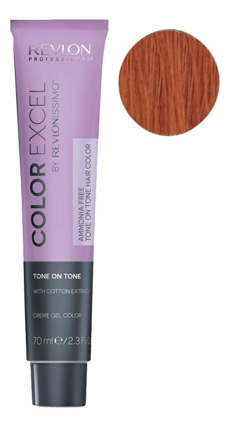 Купить Крем-гель краска для волос Color Excel by Revlonissimo 70мл: 77.40 Интенсивный Блондин насыщенно Медный, Revlon Professional