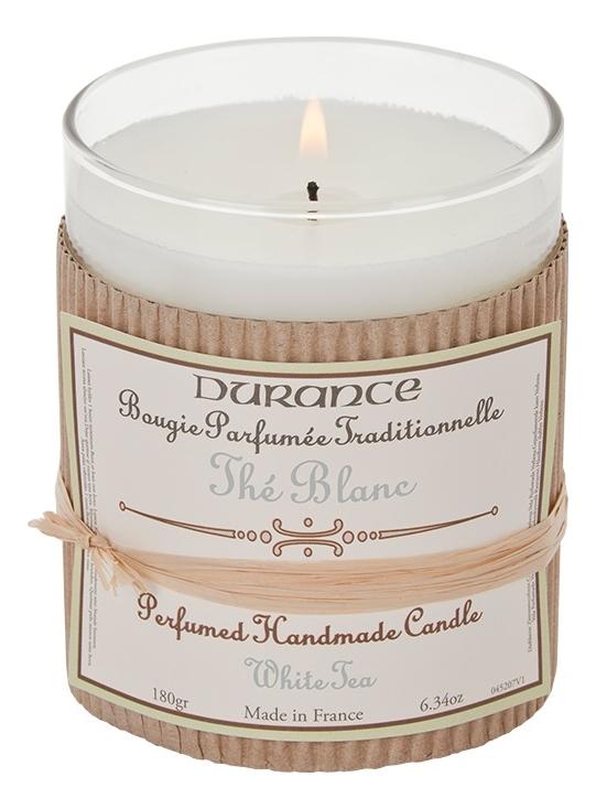 Ароматическая свеча Perfumed Handmade Candle White Tea 180г