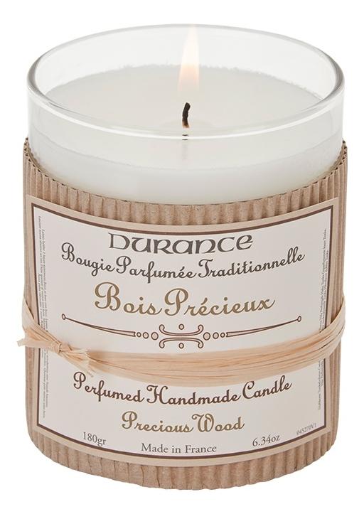 Купить Ароматическая свеча Perfumed Handmade Candle Precius Wood 180г, Durance