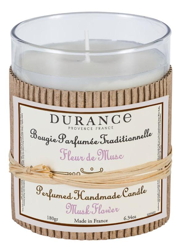 Ароматическая свеча Perfumed Handmade Candle Musk Flower 180г