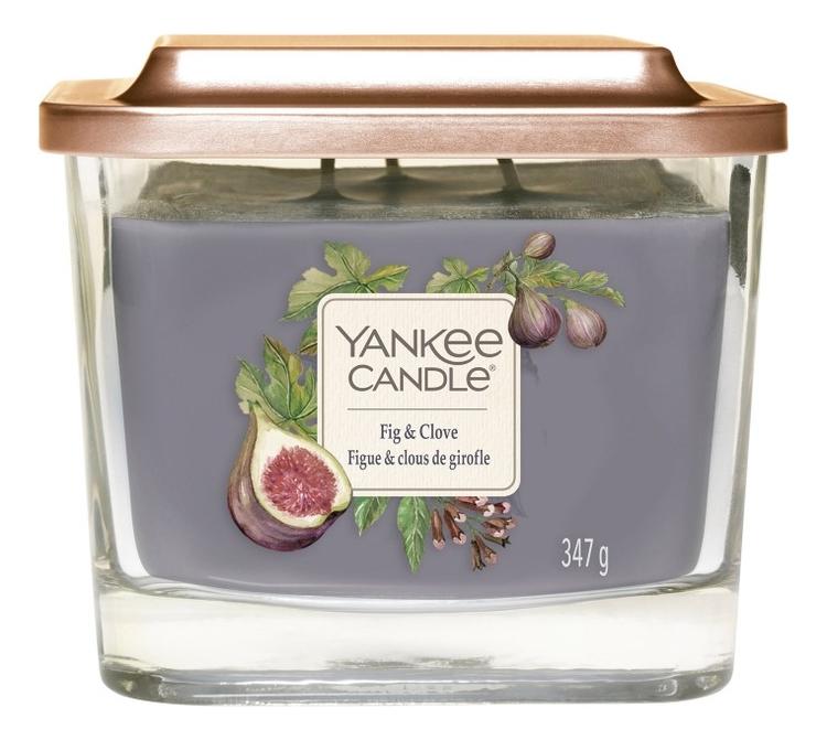 Купить Ароматическая свеча Fig & Clove: Свеча 347г, Ароматическая свеча Fig & Clove, Yankee Candle