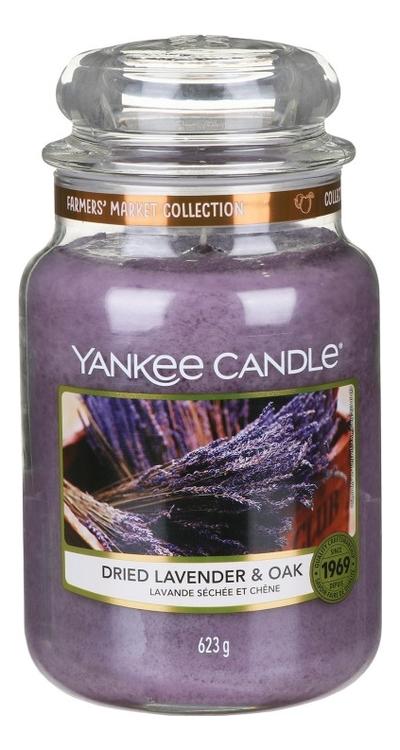 Купить Ароматическая свеча Dried Lavender & Oak: Свеча 623г, Ароматическая свеча Dried Lavender & Oak, Yankee Candle
