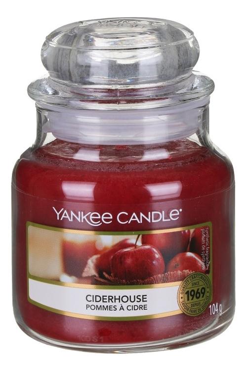 Купить Ароматическая свеча Ciderhouse: Свеча 104г, Yankee Candle