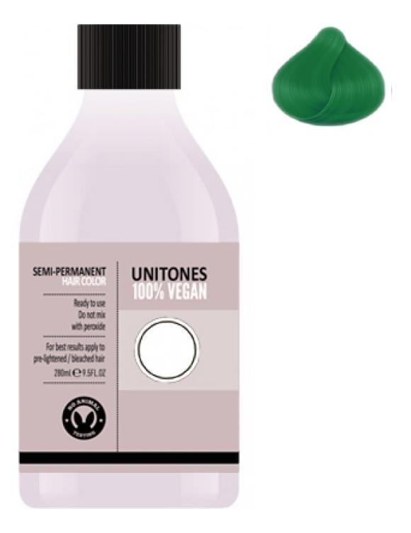 Фото - Краска для волос Semi-Permanent Hair Color 280мл: Ultra Green краска для волос semi permanent hair color 280мл walhalla grey