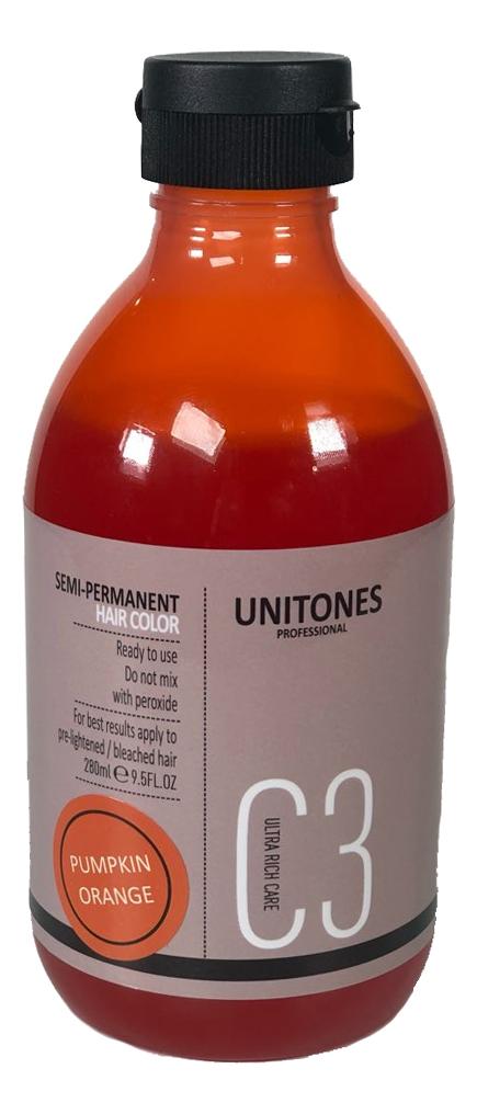 Фото - Краска для волос Semi-Permanent Hair Color 280мл: Pumpkin Orange краска для волос semi permanent hair color 280мл walhalla grey