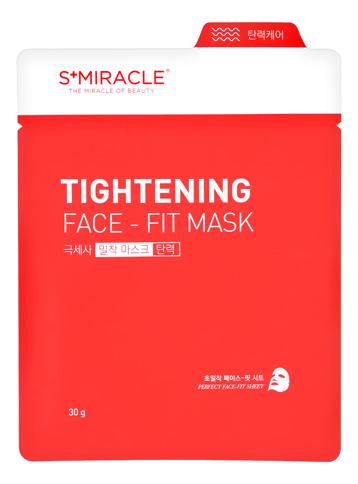 Тканевая маска для лица S+Miracle Tightening Face Fit Mas 30мл