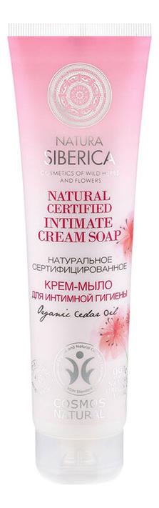 Крем-мыло для интимной гигиены Natural Certified Intimate Cream Soap 140мл