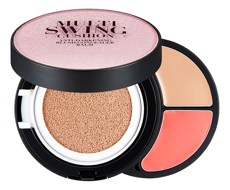 Палетка для макияжа Multi Swing Cushion 17,4г: N201 the face shop oil control water cushion